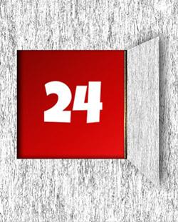 24-urna podpora