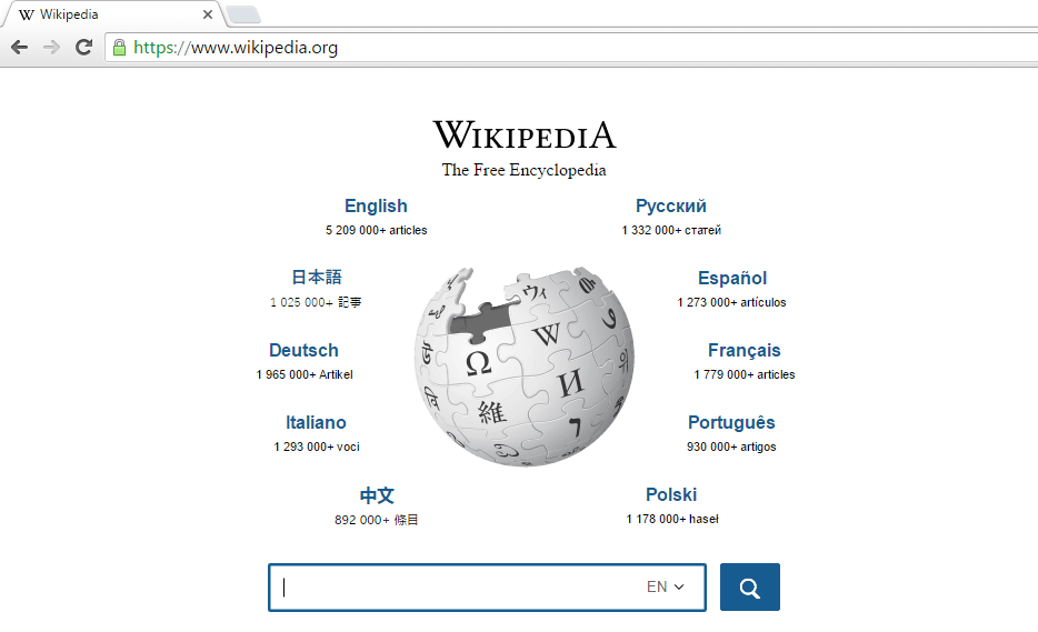 Wikipedia - prehod na HTTPS